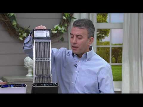 Ionic Pro Platinum Air Purifier w/Permanent Filter on QVC