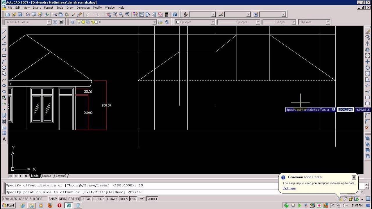 Tutorial Desain Rumah 2D  Design Centre  Desain rumah