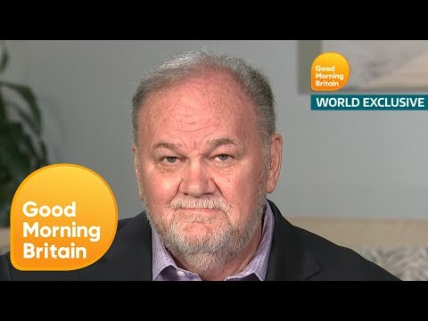 Thomas Markle Made Prince Harry Promise He'll Never Raise His Hand to Meghan   Good Morning Britain