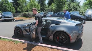 PICKING UP MY NEW 2016 CORVETTE Z06! (Vlog)
