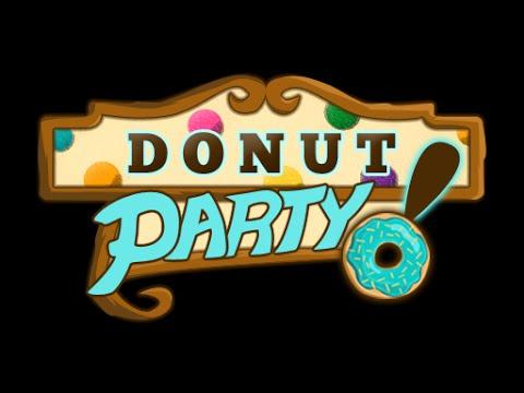 Donut Party: a tasty twist on match-3 jewel games!