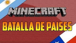 Repeat youtube video Argentina vs Chile - Especial 1000 suscriptores - Minecraft