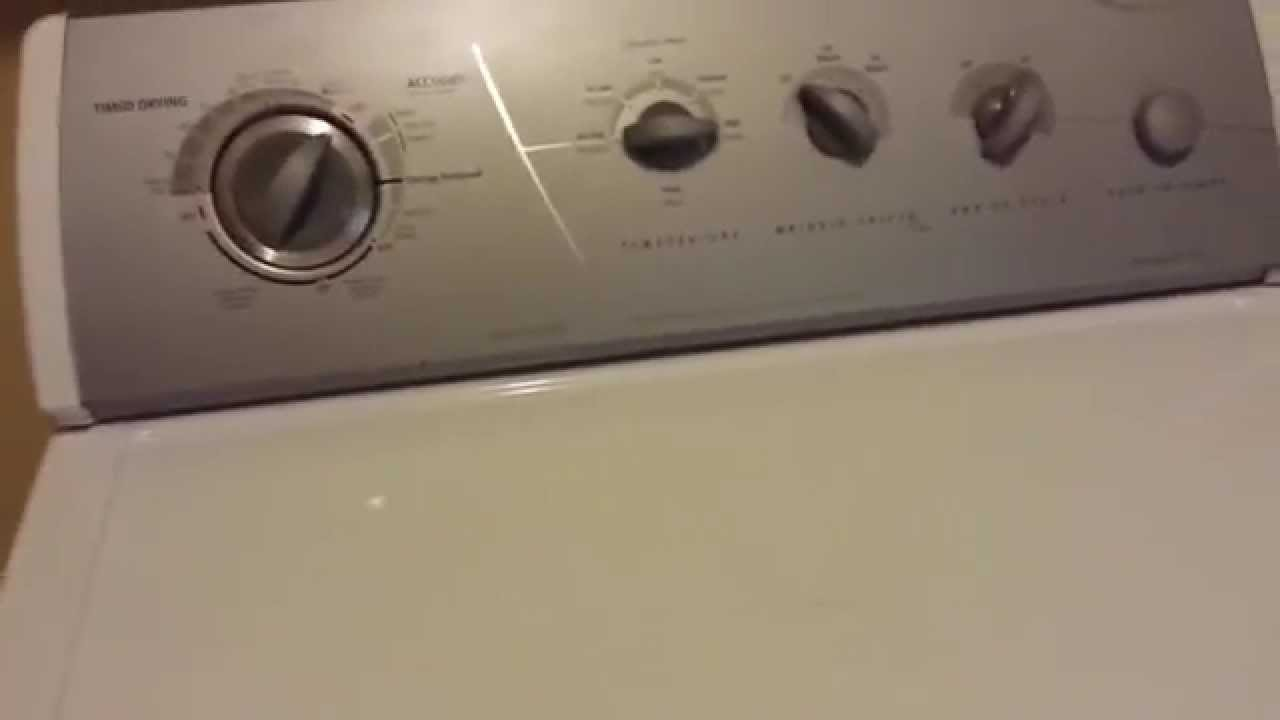 whirlpool gold ultimate care ii dryer wiring diagram car sound system opening top front panel youtube