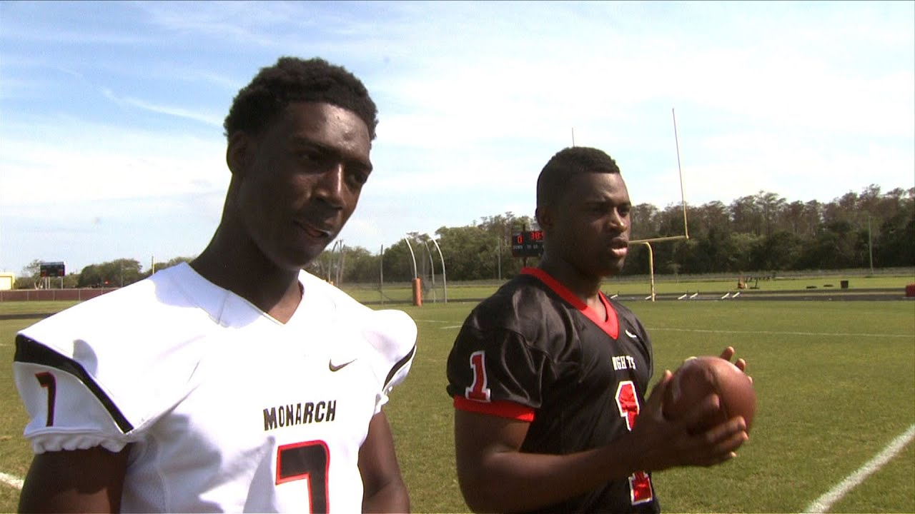 Calvin Ridley Shawn Burgess Becker Monarch High School Interview Sports Stars Of Tomorrow Youtube