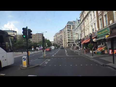 Kensington High Street - Hammersmith time lapse