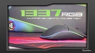 Sharkoon 1337 XXL - W końcu OGROMNA podkładka z RGB :)