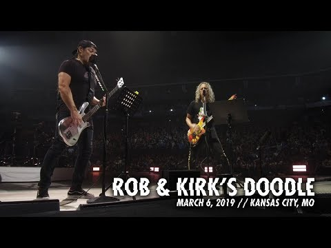 Metallica: Rob & Kirk's Doodle (Kansas City, MO - March 6, 2019)