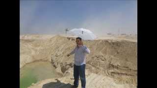 سيد أبراهيم مدير مكتب الاهرام بالشمسية  فى أول موقع حفر  بقناة السويس الجديدة أغسطس 2014