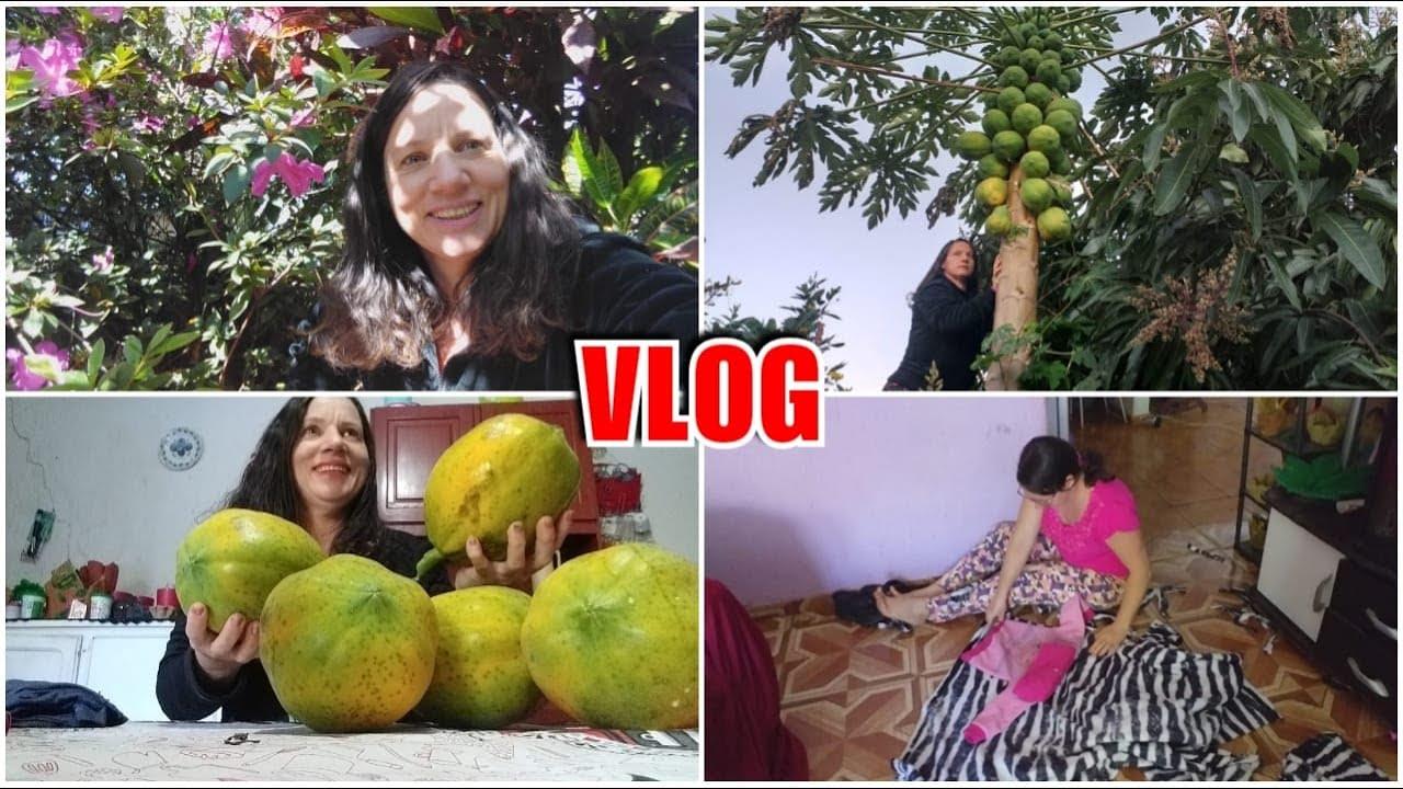 ELÁYNE MANDOU PANO PRA FAZER ROUPAS DE FRIO PARA AS NETAS! Vlog correndo contra o tempo.