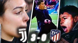 LES ÉNORMES RÉACTIONS JUVENTUS ATLETICO MADRID (3-0) : RONALDO !