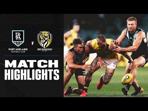 Port Adelaide V Richmond Highlights   Round 11, 2020   AFL