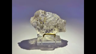 Rare Smoky Satyaloka Azeztulite Healing Stone and Crystal from Satyaloka Monastery, South India