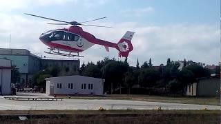 Helikopter kalkış anı