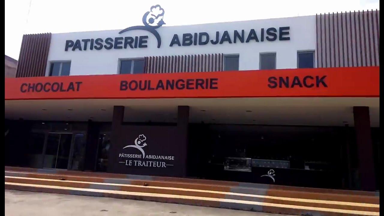 Cocody La PATISSERIE ABIDJANAISE, ouvre une de ses portes au II Plateau  carrefour Las Palmas , YouTube