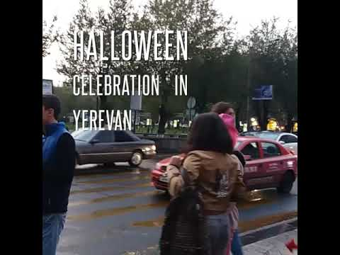 By NEWS.am STYLE. Halloween Celebration In Yerevan