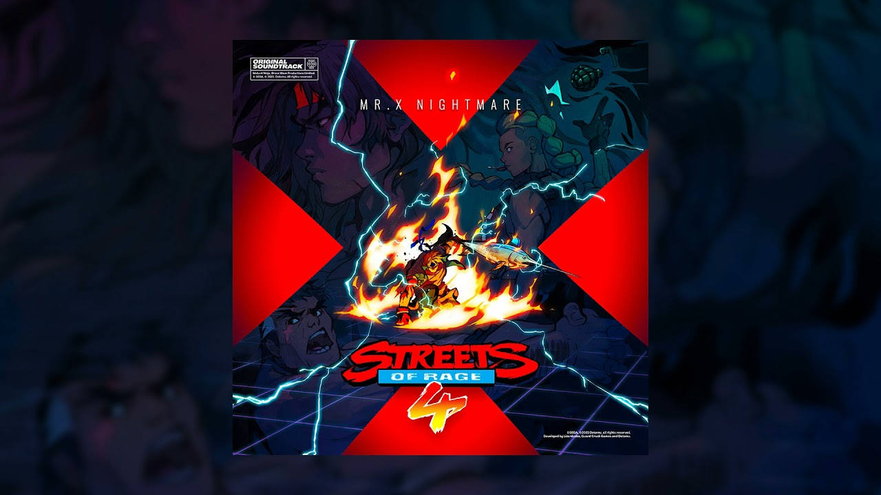 Tee Lopes - Encore | Streets of Rage 4: Mr. X Nightmare Official Soundtrack