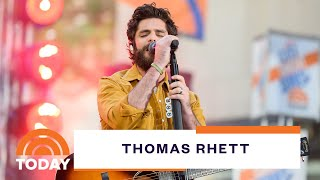 Thomas Rhett Plays Would You Rather & Reveals He Sings Celine Dion In The Shower | Today