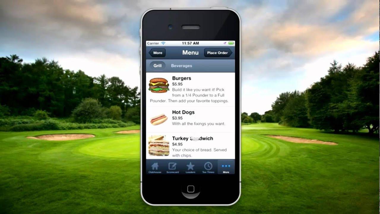 gallus golf mobile app youtube. Black Bedroom Furniture Sets. Home Design Ideas