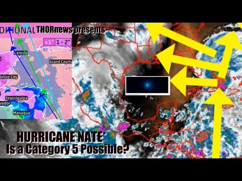 Is Category 5 Hurricane Nate a possibility for the Gulf of Mexico?