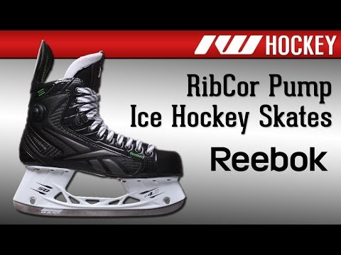Reebok RibCor Pump™ Ice Hockey Skate Review - YouTube