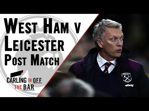 West Ham v Leicester  | Muzzy Izzet & Kriss Akabusi | Post Match | Carling In Off The Bar