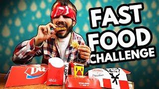 FAST FOOD CHICKEN NUGGET CHALLENGE! (Wendys, KFC, Mcdonalds)