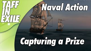 Naval Action - Early Access - Capturing a Prize Brig!
