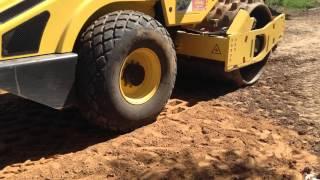 Уплотнение грунтов на участке