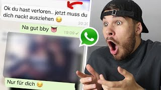 Die PEINLICHSTEN Anmachsprüche in WhatsApp! 😂