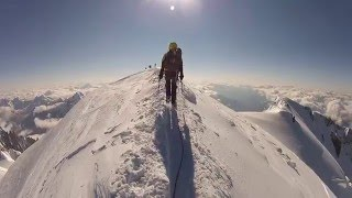 Mont Blanc - summit ascent via the Goutier Route - August 2014