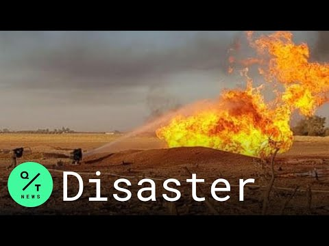 Gas Pipeline Explosion Causes Blackout in Syria