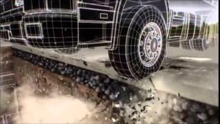 видео Использование геотекстиля при дорожном строительстве