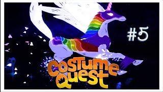 Костюмы единорога и ниндзя ☀ Costume Quest Прохождение игры 5