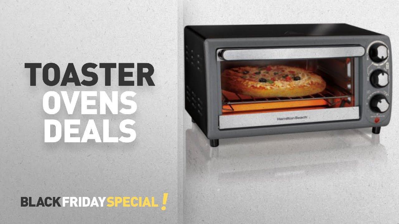Walmart Top Black Friday Toaster Ovens Hamilton Beach Toaster