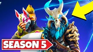 FORTNITE SEASON 5 RELEASED! NEW SKINS, MAP, GAMEPLAY! (Fortnite Season 5 Update)