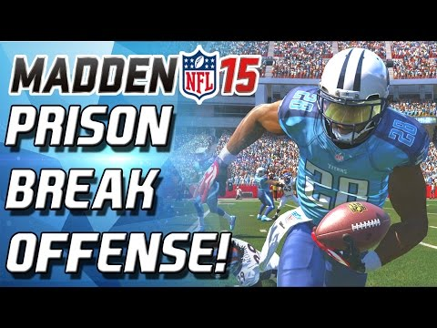 Madden 15 Ultimate Team - PRISON BREAK OFFENSE! BAD BOYS OF MUT! - MUT 15