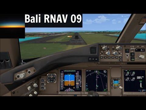 [FSX] PMDG 777-300ER | Bali Denpasar (WADD) RNAV 09