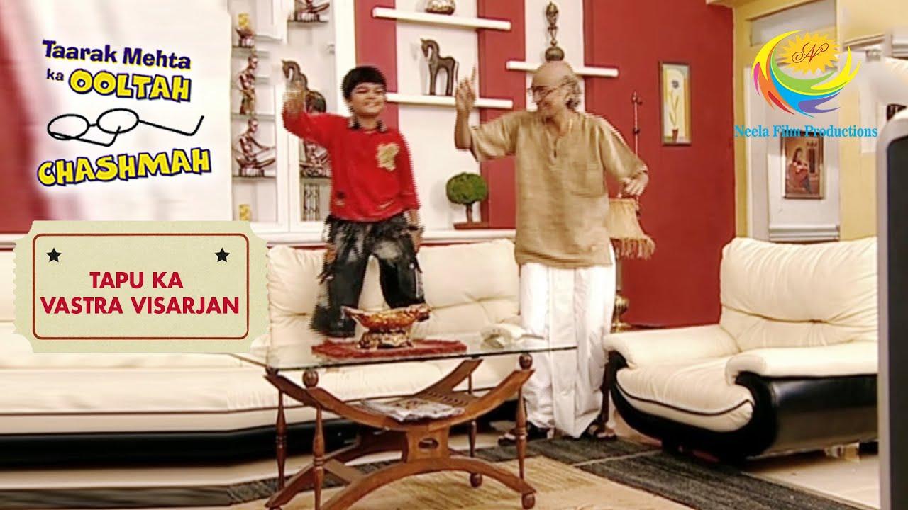 Download Tapu Enjoys His New Mode Of Entertainment | Taarak Mehta Ka Ooltah Chashmah |Tapu Ka Vastra Visarjan