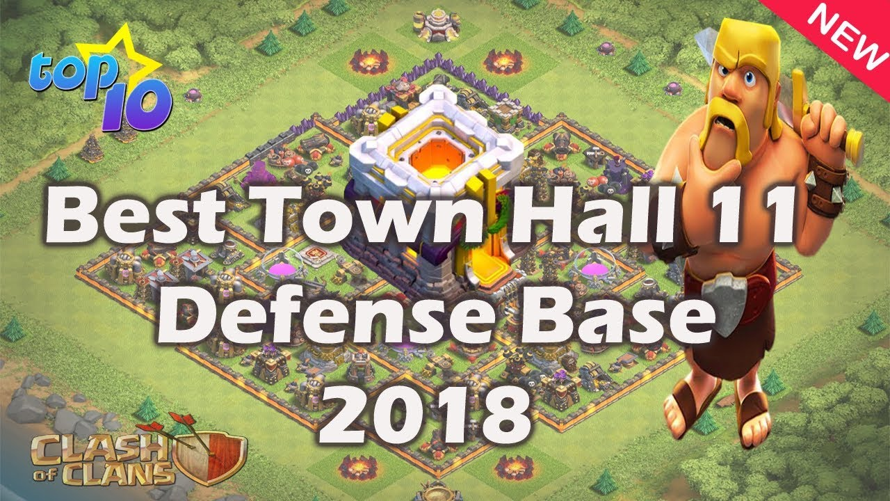 Best Coc Th11 Base 2018