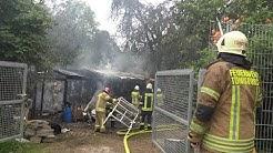 Starke Rauchentwicklung | Zwei Verletzte Feuerwehrleute | Feuer in St. Tönis