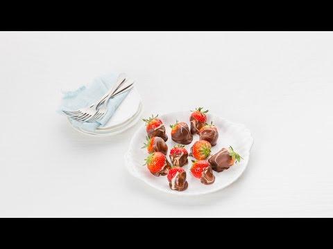 Gemarmerde choco-aardbeien – Allerhande
