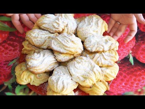 Песочное печенье хризантема рецепт