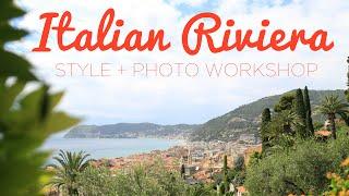 Italian Riviera Photo + Style Workshop