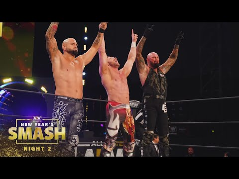 What Happened When the Band Got Back Together in the Ring?   AEW New Year's Smash Night 2, 1/13/21