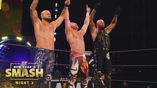 What Happened When the Band Got Back Together in the Ring? | AEW New Year's Smash Night 2, 1/13/21