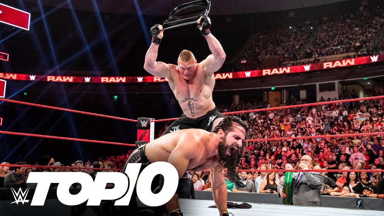 Download Brock Lesnar using weapons: WWE Top 10, Oct. 17, 2021