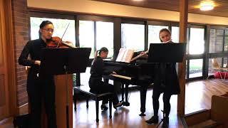 Bach Sonate Trio (BWV 1039)