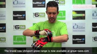 Uhlsport Cerberus Super Soft Roll Finger Goalkeeper Gloves - Product Preview