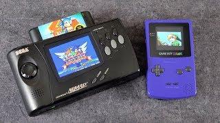 Game Boy Color and Sega Nomad Screen Mods - Modern Upgrades!