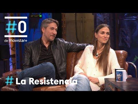 LA RESISTENCIA - Entrevista a Alberto Ammann y Clara Méndez-Leite   #LaResistencia 22.02.2018